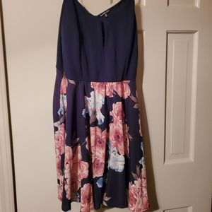 CHARLOTTE Russe. 2X. Blue and pink